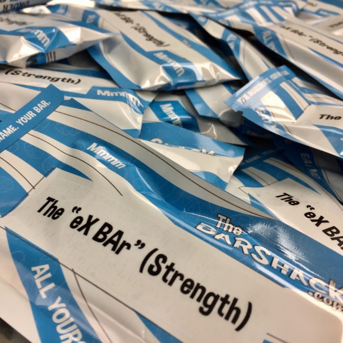 ex bar strength protein bar package