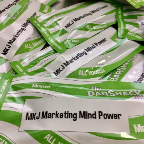 Mind powder protein bar package
