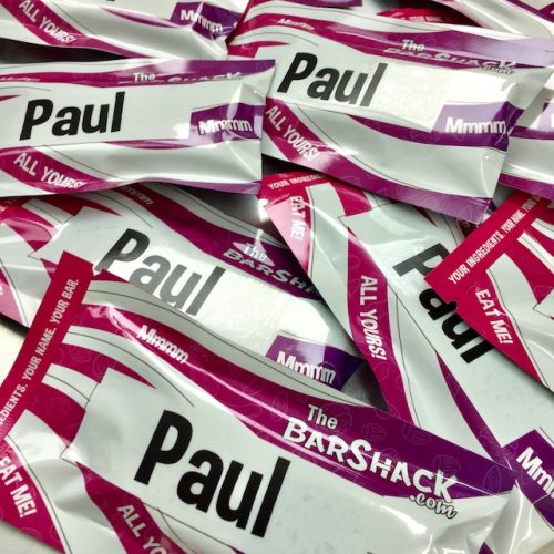 pauls protein bar package