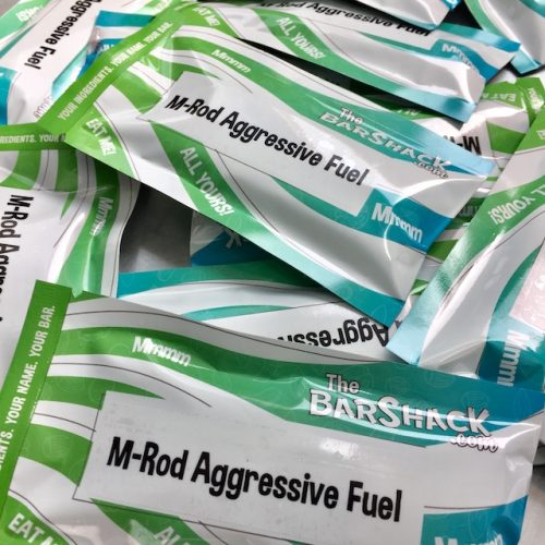 M-ROD Aggressive Fuel Protein Bar Package