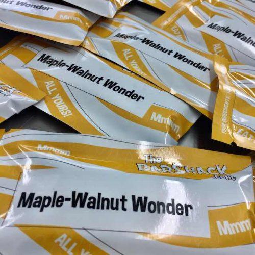 Maple-Walnut Bar Package
