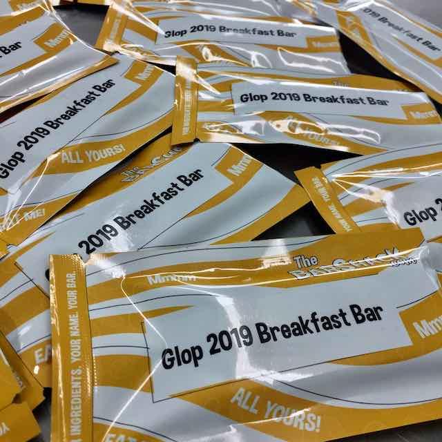 Glop 2019 Breakfast Bar Package