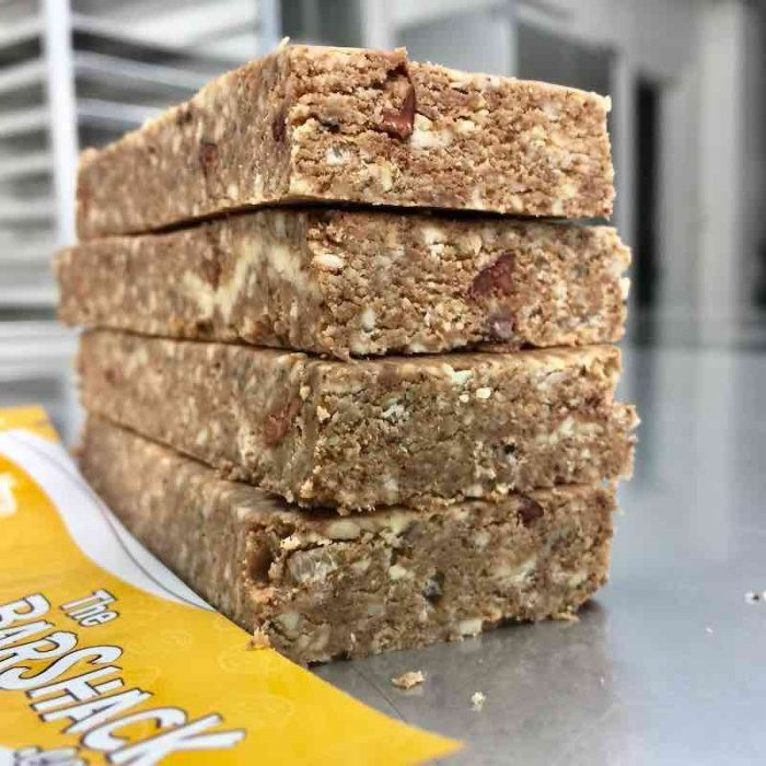 Coffee Cacao Crisp protein bar