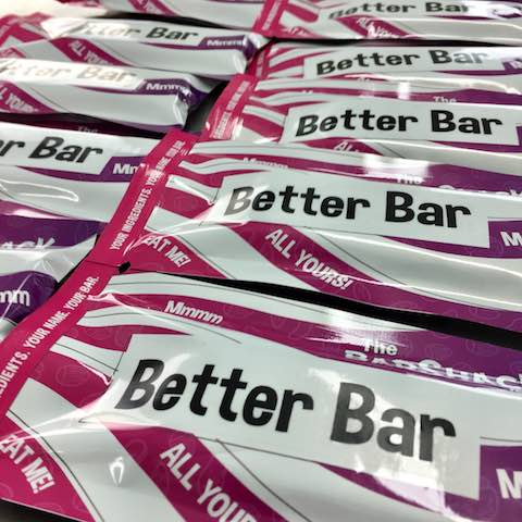 Better Bar Protein Bar package