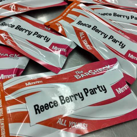 Reece Berry Party Protein Bar Package