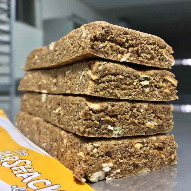 Cashew Egg White Pumpkin protein bar