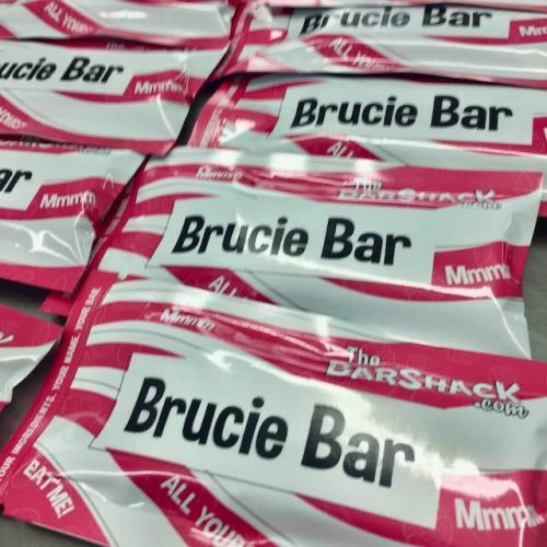 'Brucie Bar' Protein bar package