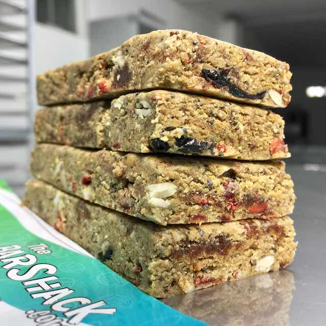 Coconut Wheatgrass Protein Bar