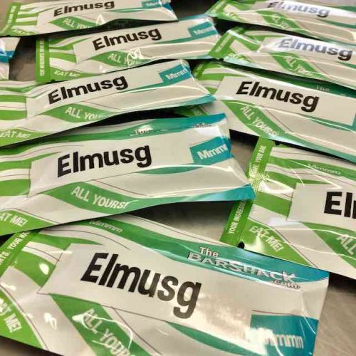 Elmusg protein bar package