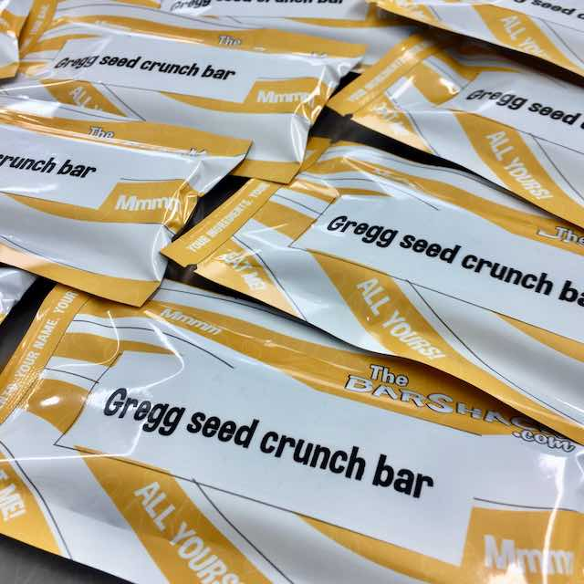 Gregg seed crunch package