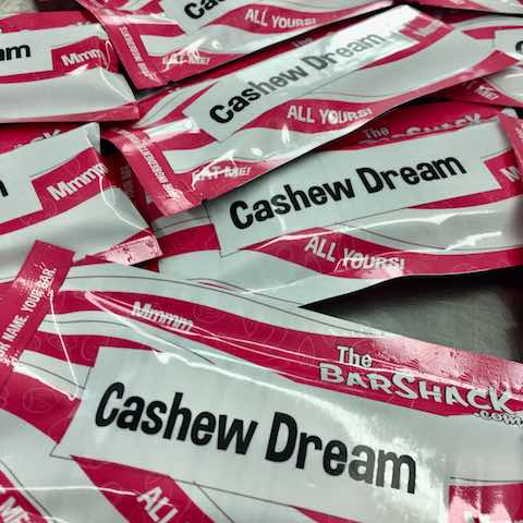 Cashew Dream protein bar Package