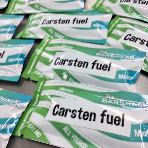 Carsten fuel protein bar package