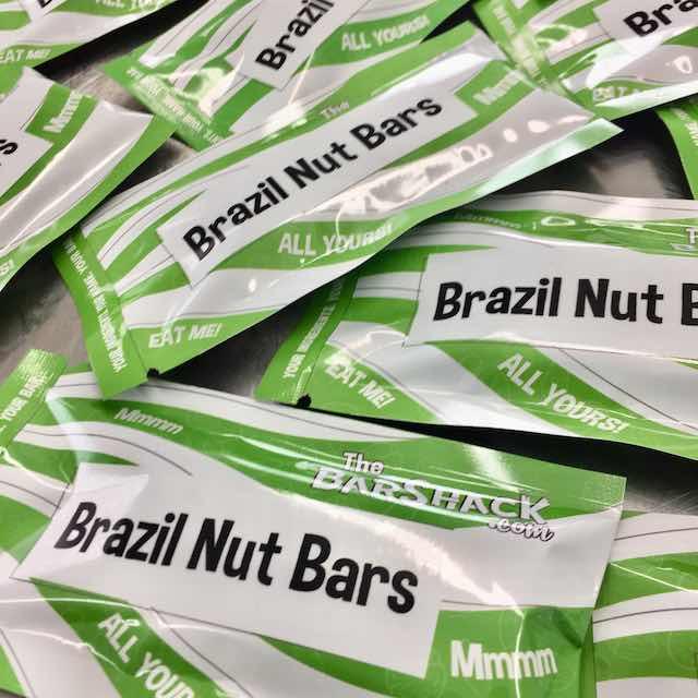Brazil Nut Bars package