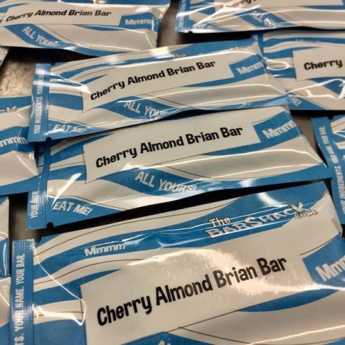 Cherry Almond Brian Bar Package