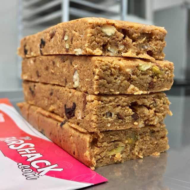 GingerCrisp protein bar recipe