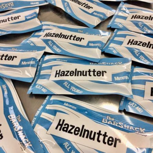 Hazelnutter protein bar package