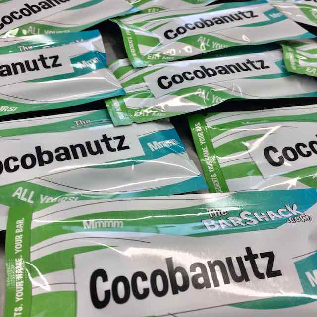Cocobanutz protein bar package