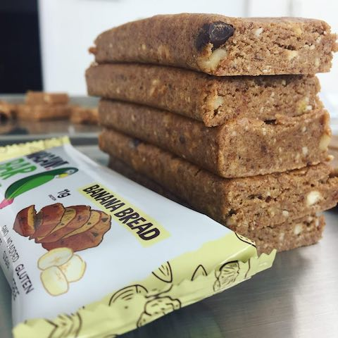 Whey based protein bars