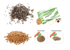 omega 3 protein bar ingredients