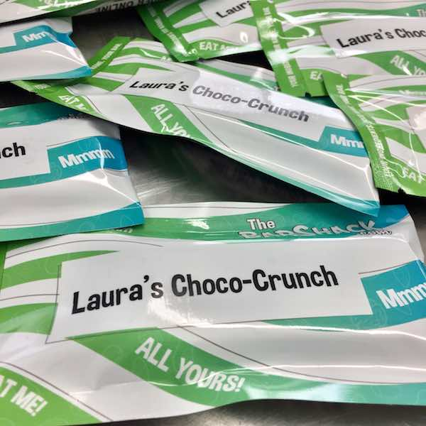 Laura's Choco-Crunch Package