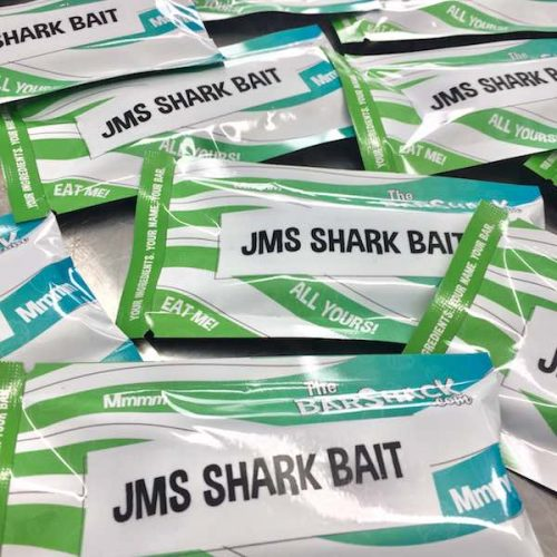 JMS SHARK BAIT Protein bar package
