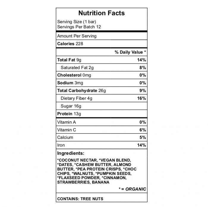 JMS SHARK BAIT Protein bar nutrition
