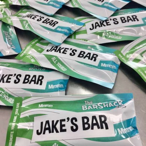 JAKE'S Protein Bar package